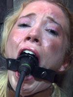 Blonde girl from Infernal Restraints