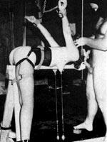 Retro vintage bondage