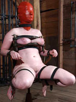 Infernal Restraints girl breaks down