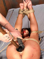Rough BDSM session