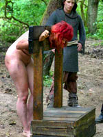 Redhead witch tortured