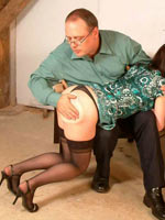 Good old fashioned ass spanking