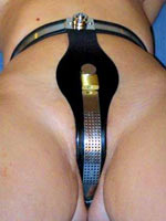 Female chastity belts in BDSM play