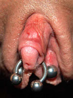 Pussy and clitoris extreme torture