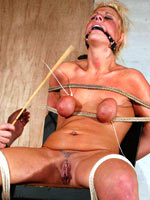 Blonde caned increased by branded