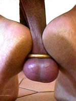 Non-professional Cock and ball torture practice