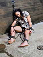 Julie tortured in dungeon