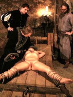 Torture household goods in put emphasize medieval dungeon