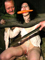 Food torture for witch