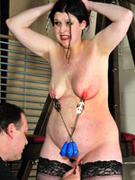 Practice of breast torture
