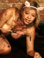 Dirty pig pet play humiliation