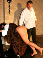 Medieval punishment of maid