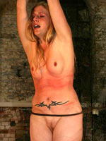 Girl loving whipping