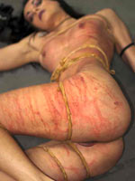 Throbbing from rubber band