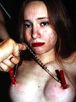 Emma loves breast torture