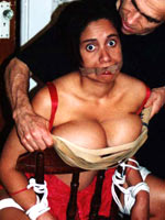Carmen gets spanked at home