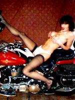 Harley Davidson and bondage