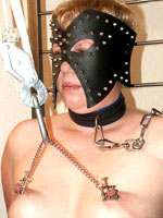 Bondage session at the Dutch BDSM spent