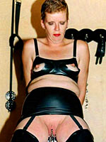 Amateur vintage BDSM session